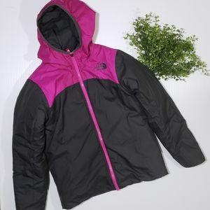 Northface Girls Reversible Puffer Jacket